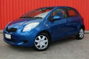 2006 Toyota Yaris NCP91R YRS Blue 4 Speed Automatic Hatchback Dandenong Greater Dandenong Preview