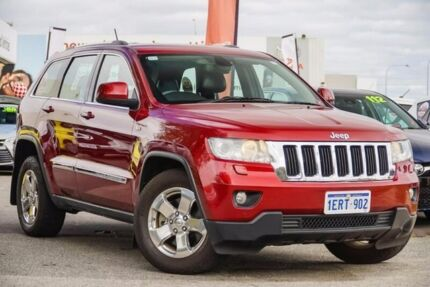 2012 Jeep Grand Cherokee WK MY2013 Laredo Red 5 Speed Sports Automatic Wagon