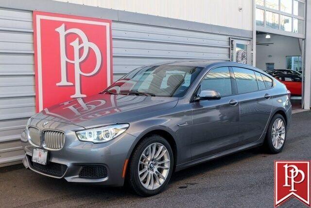 2015 BMW 5 Series Gran Turismo 550i 58729 Miles Space Gray Metallic