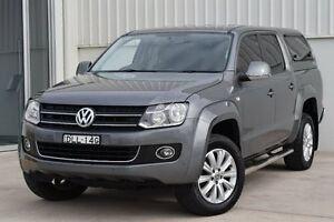 2014 Volkswagen Amarok 2H MY14 TDI420 4Motion Perm Highline Natural Grey 8 Speed Automatic Utility Rutherford Maitland Area Preview
