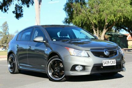 2012 Holden Cruze JH Series II MY13 SRi-V Grey 6 Speed Manual Hatchback Nailsworth Prospect Area Preview