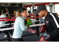 Boxing lessons and personal training. Lose weight quickly with my boxing-based fitness plan