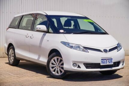 2015 Toyota Tarago ACR50R MY13 GLi White 7 Speed Constant Variable Wagon Embleton Bayswater Area Preview