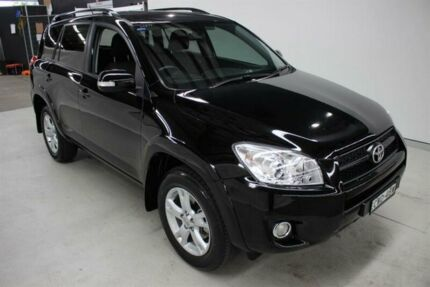 2012 Toyota RAV4 ACA38R MY12 Cruiser 4x2 Black 5 Speed Manual Wagon