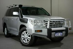 2008 Toyota Landcruiser VDJ200R GXL Silver 6 Speed Sports Automatic Wagon Bayswater Bayswater Area Preview