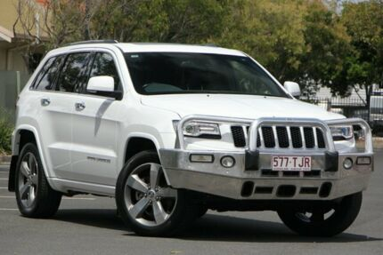 2013 Jeep Grand Cherokee WK MY2014 Overland White 8 Speed Sports Automatic Wagon Chermside Brisbane North East Preview