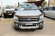 2013 Ford Ranger PX Wildtrak Double Cab Silver 6 Speed Sports Automatic Utility Minchinbury Blacktown Area Preview