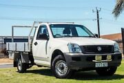 2005 Holden Rodeo RA MY05 DX 4x2 White 5 Speed Manual Cab Chassis Wangara Wanneroo Area Preview