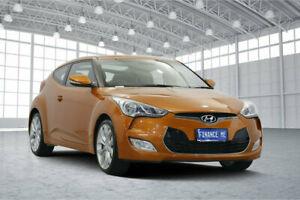 2012 Hyundai Veloster FS Coupe D-CT Vitamin C 6 Speed Sports Automatic Dual Clutch Hatchback
