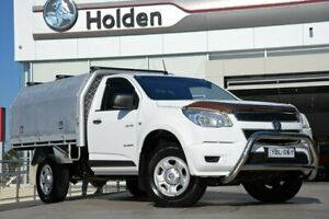 2012 Holden Colorado RG MY13 DX 4x2 White 5 Speed Manual Cab Chassis Liverpool Liverpool Area Preview