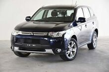 2014 Mitsubishi Outlander ZJ MY14.5 ES 4WD Blue 6 Speed Constant Variable Wagon Robina Gold Coast South Preview