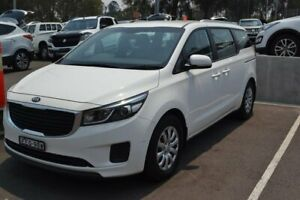 2017 Kia Carnival YP MY17 S White 6 Speed Sports Automatic Wagon Maitland Maitland Area Preview