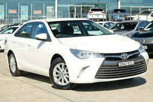 2017 Toyota Camry ASV50R Altise White 6 Speed Sports Automatic Sedan Castle Hill The Hills District Preview