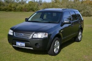 2008 Ford Territory SY MY07 Upgrade Ghia (4x4) Grey 6 Speed Auto Seq Sportshift Wagon Rockingham Rockingham Area Preview
