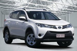 2015 Toyota RAV4 ZSA42R MY14 Upgrade GX (2WD) White Continuous Variable Wagon Eagle Farm Brisbane North East Preview