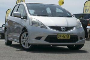 2010 Honda Jazz GE MY10 VTi-S Silver 5 Speed Manual Hatchback