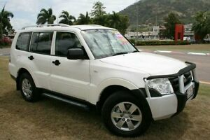 2007 Mitsubishi Pajero NS GLX White 5 Speed Sports Automatic Wagon Townsville Townsville City Preview