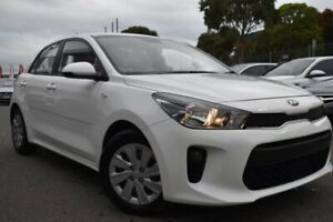 2018 Kia Rio YB MY18 S White 4 Speed Sports Automatic Hatchback Mill Park Whittlesea Area Preview