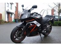 Daelim Roadwin 250cc. Fuel Injection. 11Months MOT. Would swap for a car? Or what you got?