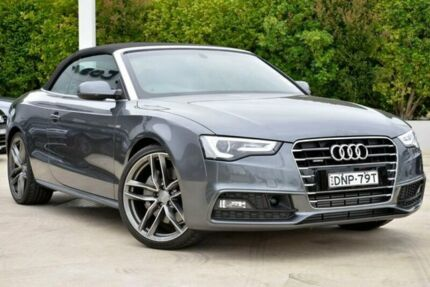 2016 Audi A5 8T MY17 S line plus S tronic quattro Grey 7 Speed Sports Automatic Dual Clutch Gosford Gosford Area Preview