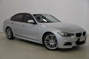 2013 BMW 320i F30 MY1112 Silver 8 Speed Sports Automatic Sedan Mansfield Brisbane South East Preview