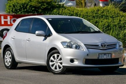 2010 Toyota Corolla ZRE152R MY10 Ascent Silver 4 Speed Automatic Hatchback Narre Warren Casey Area Preview
