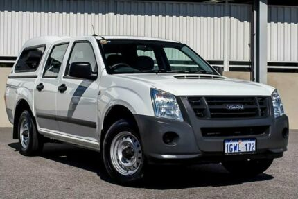 2010 Isuzu D-MAX MY10 SX 4x2 White Manual Utility Cannington Canning Area Preview