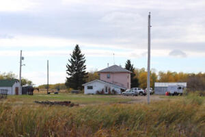 5 Bdrm Home on 160 Acres near Birtle w/More Nearby Land for Sale