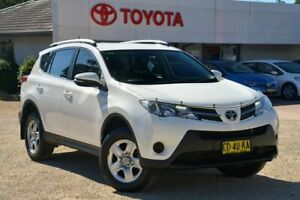 2015 Toyota RAV4 ZSA42R MY14 Upgrade GX (2WD) White Continuous Variable Wagon Wyong Wyong Area Preview