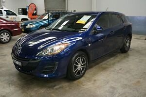 2011 Mazda 3 BL10F1 MY10 Neo Blue 6 Speed Manual Hatchback Old Guildford Fairfield Area Preview