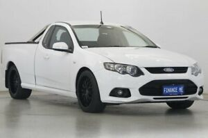 2013 Ford Falcon FG MkII XR6 Ute Super Cab Winter White 6 Speed Manual Utility