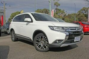 2016 Mitsubishi Outlander ZK MY16 LS 2WD White 6 Speed Constant Variable Wagon Rockingham Rockingham Area Preview