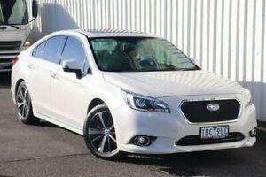 2016 Subaru Liberty B6 MY17 3.6R CVT AWD White 6 Speed Constant Variable Sedan Watsonia Banyule Area Preview