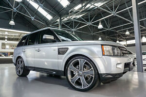 2012 Land Rover Range Rover MY12 Sport 3.0 SDV6 Indus Silver 6 Speed Automatic Wagon Port Melbourne Port Phillip Preview