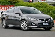 2012 Mazda 6 GH1052 MY12 Touring Grey 5 Speed Sports Automatic Hatchback Narre Warren Casey Area Preview