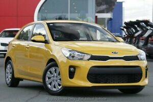 2019 Kia Rio YB MY19 S Yellow 4 Speed Sports Automatic Hatchback Old Reynella Morphett Vale Area Preview