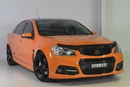 2014 Holden Commodore VF MY14 SS V Redline Orange 6 Speed Manual Sedan Wadalba Wyong Area Preview
