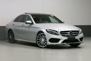 2016 Mercedes-Benz C250 205 MY16 Silver 7 Speed Automatic Sedan Bentley Canning Area Preview