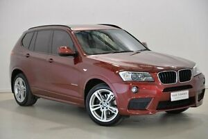 2012 BMW X3 F25 MY0412 xDrive20d Steptronic Red 8 Speed Automatic Wagon Mansfield Brisbane South East Preview