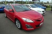 2010 Mazda 6 GH MY10 Luxury Sports Red 5 Speed Auto Activematic Hatchback Wacol Brisbane South West Preview