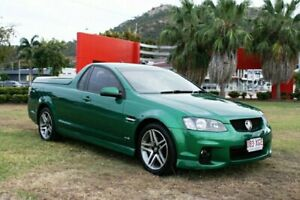 2011 Holden Ute VE II SV6 Green 6 Speed Manual Utility Townsville Townsville City Preview
