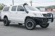 2015 Toyota Hilux KUN26R MY14 SR Double Cab White 5 Speed Manual Utility Phillip Woden Valley Preview