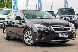 2012 Subaru Impreza G4 MY13 2.0i Lineartronic AWD Black 6 Speed Constant Variable Hatchback Embleton Bayswater Area Preview