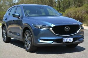 2019 Mazda CX-5 KF4WLA Akera SKYACTIV-Drive i-ACTIV AWD Blue 6 Speed Sports Automatic Wagon Cannington Canning Area Preview