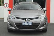 2013 Hyundai i20 PB MY13 Active Grey 4 Speed Automatic Hatchback Upper Ferntree Gully Knox Area Preview