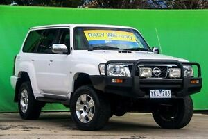 2005 Nissan Patrol GU IV MY05 ST White 4 Speed Automatic Wagon Ringwood East Maroondah Area Preview