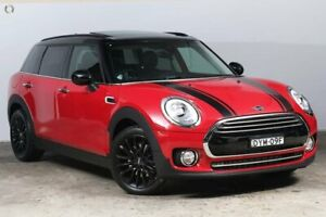 2018 Mini Clubman F54 Cooper Steptronic Chilli Red 6 Speed Sports Automatic Wagon Darlinghurst Inner Sydney Preview