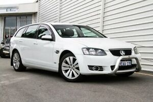 2012 Holden Commodore VE II MY12.5 Z Series Sportwagon White 6 Speed Sports Automatic Wagon Osborne Park Stirling Area Preview