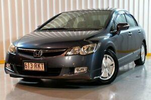 2007 Honda Civic 8th Gen MY07 Hybrid 1 Speed Constant Variable Sedan Hybrid Hendra Brisbane North East Preview