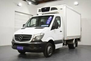 2014 Mercedes-Benz Sprinter NCV3 MY14 519CDI LWB 7G-Tronic White Sports Automatic Cab Chassis Oakleigh Monash Area Preview